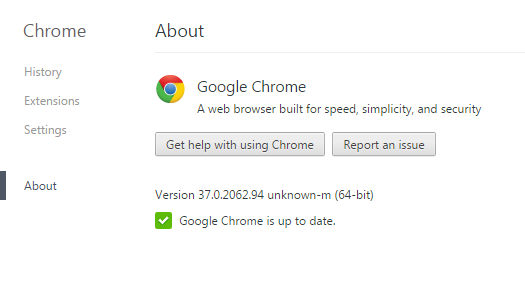 64-bit Google Chrome Version